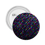 Polka Dot Sparkley Jewels 2 2.25  Button