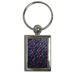 Polka Dot Sparkley Jewels 2 Key Chain (Rectangle)