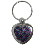 Polka Dot Sparkley Jewels 2 Key Chain (Heart)