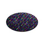 Polka Dot Sparkley Jewels 2 Sticker (Oval)