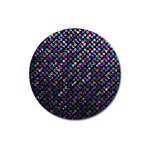 Polka Dot Sparkley Jewels 2 Magnet 3  (Round)