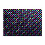 Polka Dot Sparkley Jewels 2 A4 Sticker 100 Pack