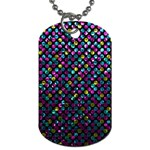 Polka Dot Sparkley Jewels 2 Dog Tag (Two-sided)