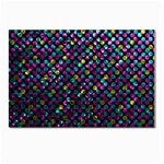 Polka Dot Sparkley Jewels 2 Postcard 4 x 6  (10 Pack)