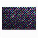 Polka Dot Sparkley Jewels 2 Postcard 5  x 7