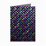 Polka Dot Sparkley Jewels 2 Mini Greeting Card (8 Pack)