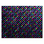 Polka Dot Sparkley Jewels 2 Jigsaw Puzzle (Rectangle)