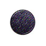 Polka Dot Sparkley Jewels 2 Golf Ball Marker (for Hat Clip)