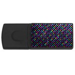 Polka Dot Sparkley Jewels 2 4GB USB Flash Drive (Rectangle)