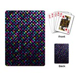 Polka Dot Sparkley Jewels 2 Playing Cards Single Design