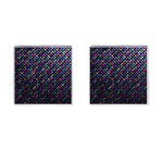 Polka Dot Sparkley Jewels 2 Cufflinks (Square)
