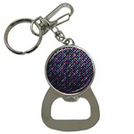 Polka Dot Sparkley Jewels 2 Bottle Opener Key Chain