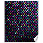 Polka Dot Sparkley Jewels 2 Canvas 16  x 20  (Unframed)