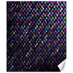 Polka Dot Sparkley Jewels 2 Canvas 20  x 24  (Unframed)