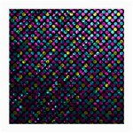 Polka Dot Sparkley Jewels 2 Glasses Cloth (Medium, Two Sided)