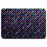 Polka Dot Sparkley Jewels 2 Large Door Mat