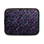 Polka Dot Sparkley Jewels 2 Netbook Sleeve (Small)