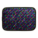 Polka Dot Sparkley Jewels 2 Netbook Sleeve (Medium)