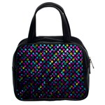 Polka Dot Sparkley Jewels 2 Classic Handbag (Two Sides)