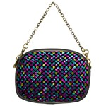 Polka Dot Sparkley Jewels 2 Chain Purse (Two Sided)