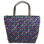 Polka Dot Sparkley Jewels 2 Bucket Handbag