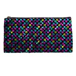 Polka Dot Sparkley Jewels 2 Pencil Case