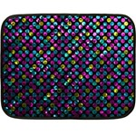 Polka Dot Sparkley Jewels 2 Mini Fleece Blanket (Two Sided)