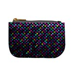 Polka Dot Sparkley Jewels 2 Coin Change Purse