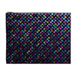 Polka Dot Sparkley Jewels 2 Cosmetic Bag (XL)