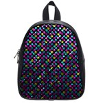 Polka Dot Sparkley Jewels 2 School Bag (Small)