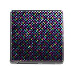 Polka Dot Sparkley Jewels 2 Memory Card Reader with Storage (Square)