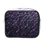 Polka Dot Sparkley Jewels 2 Mini Travel Toiletry Bag (One Side)