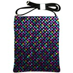 Polka Dot Sparkley Jewels 2 Shoulder Sling Bag