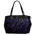 Polka Dot Sparkley Jewels 2 Oversize Office Handbag (One Side)