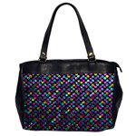 Polka Dot Sparkley Jewels 2 Oversize Office Handbag (Two Sides)