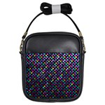 Polka Dot Sparkley Jewels 2 Girl s Sling Bag