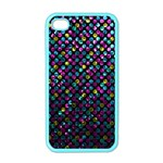 Polka Dot Sparkley Jewels 2 Apple iPhone 4 Case (Color)