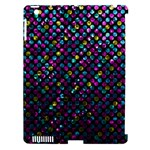 Polka Dot Sparkley Jewels 2 Apple iPad 3/4 Hardshell Case (Compatible with Smart Cover)