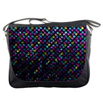 Polka Dot Sparkley Jewels 2 Messenger Bag