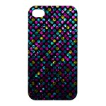 Polka Dot Sparkley Jewels 2 Apple iPhone 4/4S Premium Hardshell Case