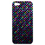 Polka Dot Sparkley Jewels 2 Apple iPhone 5 Hardshell Case