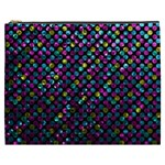 Polka Dot Sparkley Jewels 2 Cosmetic Bag (XXXL)