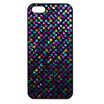 Polka Dot Sparkley Jewels 2 Apple iPhone 5 Seamless Case (Black)