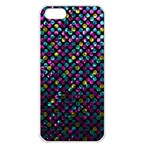 Polka Dot Sparkley Jewels 2 Apple iPhone 5 Seamless Case (White)