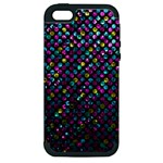 Polka Dot Sparkley Jewels 2 Apple iPhone 5 Hardshell Case (PC+Silicone)