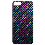 Polka Dot Sparkley Jewels 2 Apple iPhone 5 Classic Hardshell Case
