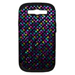 Polka Dot Sparkley Jewels 2 Samsung Galaxy S III Hardshell Case (PC+Silicone)