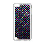 Polka Dot Sparkley Jewels 2 Apple iPod Touch 5 Case (White)