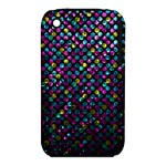 Polka Dot Sparkley Jewels 2 Apple iPhone 3G/3GS Hardshell Case (PC+Silicone)