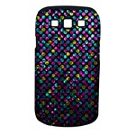 Polka Dot Sparkley Jewels 2 Samsung Galaxy S III Classic Hardshell Case (PC+Silicone)